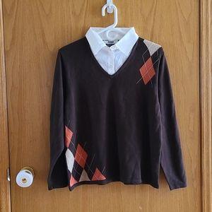 ☀️50% OFF☀️ Fooler collar sweater